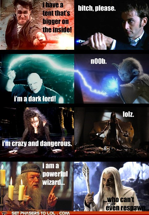 Harry Potter Vs. Everybody