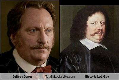 funny,jeffrey jones,painting,portrait,TLL
