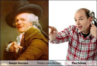 Joseph Ducreux Totally Looks Like Paul Scheer