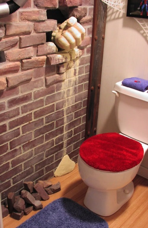 Spider-Man Bathroom of the Day