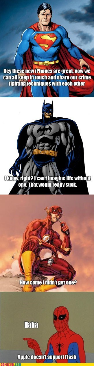 Poor, Poor Flash