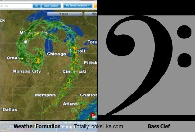 Weather Formation Totally Looks Like Bass Clef