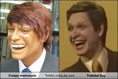 Creepy Mannequin Totally Looks Like Trollolol Guy