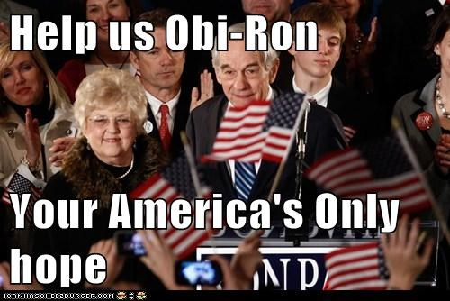political pictures,Ron Paul,star wars
