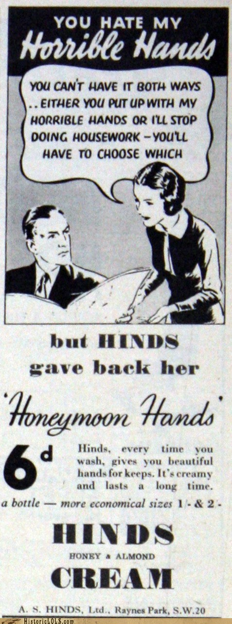 "Give Her Back Her ""Honeymoon Hands"""