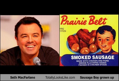 Seth MacFarlane Totally Looks Like Sausage Boy Grown Up