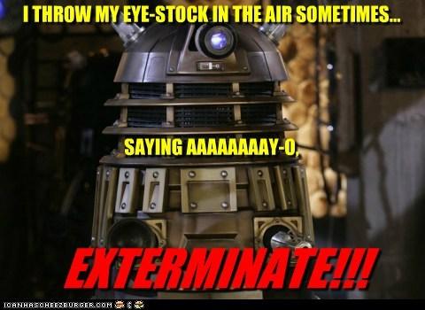 ayo,dalek,doctor who,dynamite,Exterminate,eye,taio cruz