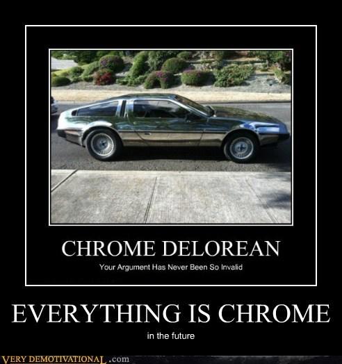 amazing,chrome,DeLorean,future,Pure Awesome