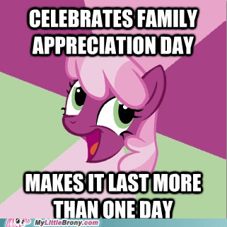 Troll Cheerilee: Family Appreciation DAY