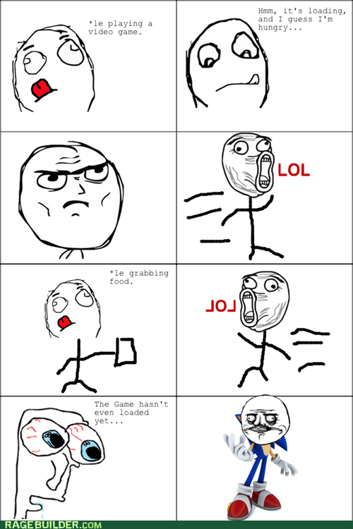 Rage Comics: Time May Fly, But I'm Even Faster!