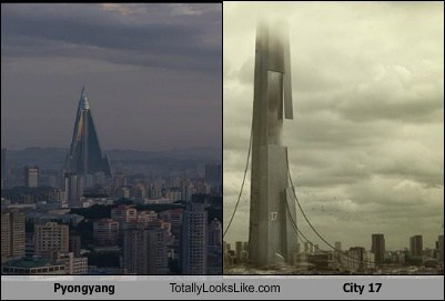Pyongyang Totally Looks Like City 17