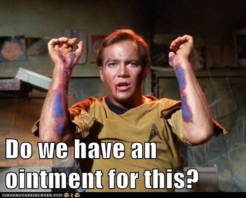 disease,ointment,rash,Shatnerday,Star Trek,STD,William Shatner