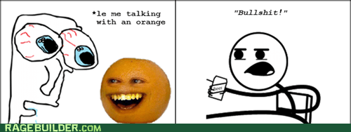 Talking orange