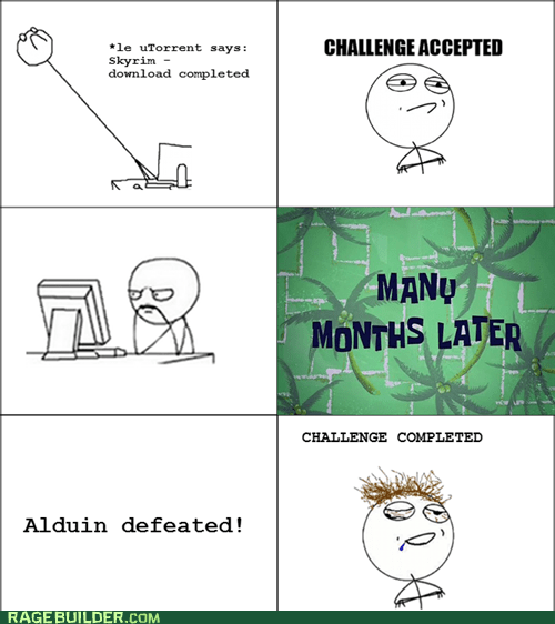 Skyrim Challenge