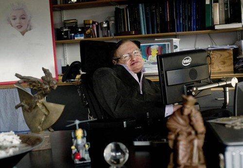 Stephen Hawking Turns 70 of the Day