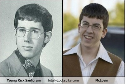 Young Rick Santorum Totally Looks Like McLovin