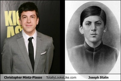 Christopher Mintz-Plasse Totally Looks Like Joseph Stalin
