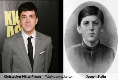 Christopher Mintz-Plasse Totally Looks Like Joseph Stalin