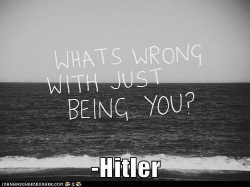 hitler,inspirational,original,weird kid