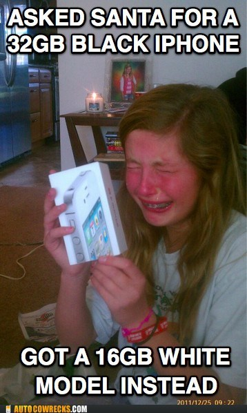 black,christmas,crying,iphone,santa,white
