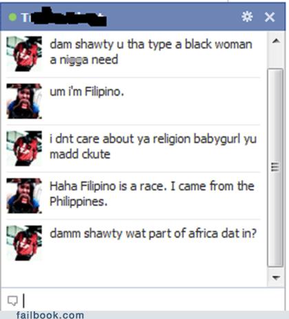 chat,facebook,facepalm,failbook,Featured Fail,race,religion