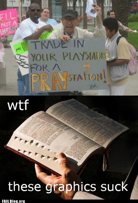 FAIL Nation: Praystation FAIL