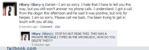 Failbook: STOP. DO NOT READ THIS.