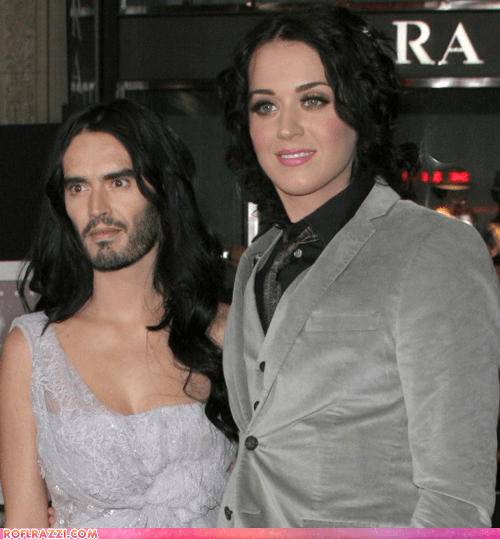 The Katy Perry, Russell Brand Face Swap