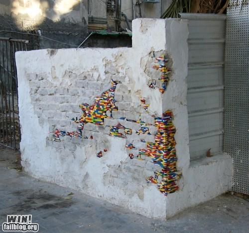 art,design,lego,repair,toys,wall