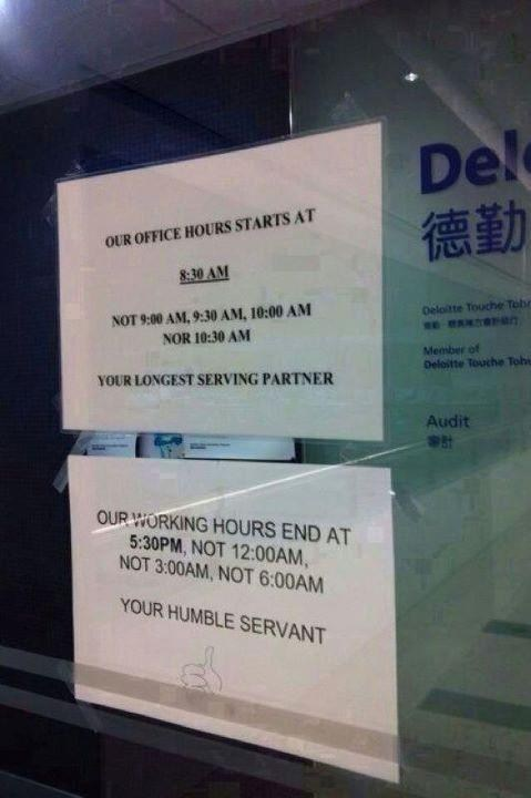 I sense there may be some conflict between these business partners