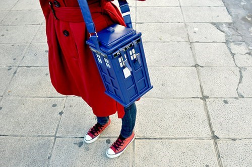 TARDIS Purse of the Day
