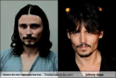 Beezow Doo-Doo- ZipittyBop-Bop-Bop Totally Looks Like Johnny Depp