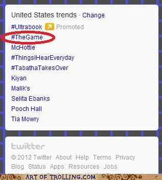 the game,trends,you just lost