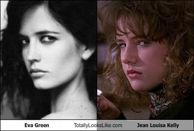 Eva Green Totally Looks Like Jean Louisa Kelly