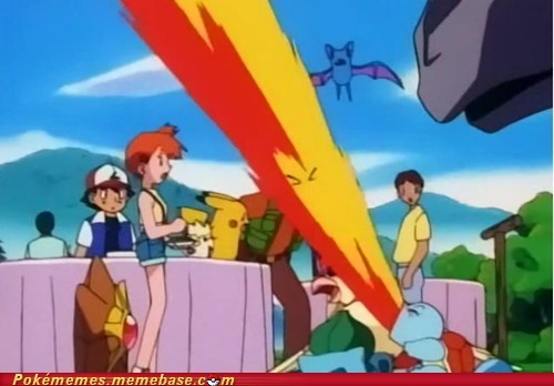 Squirtle Used Flamethrower!?