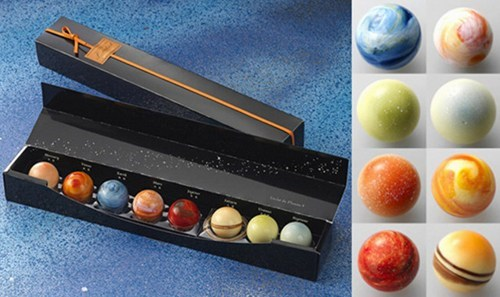 Solar System Chocolates of the Day