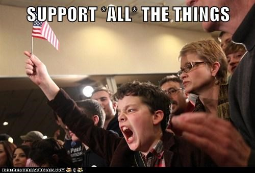 SUPPORT *ALL* THE THINGS