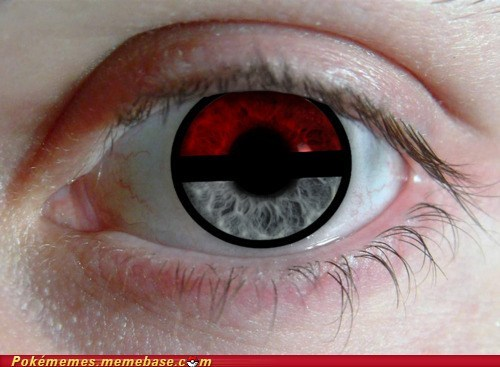 awesome,best of week,contacts,iris,IRL,poke ball,Pokémon