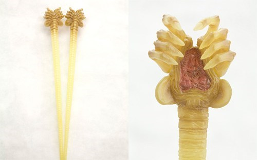 Alien Face Hugger Chopsticks of the Day