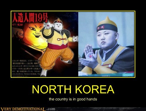 country,Dragon Ball Z,hilarious,kim jong-un,North Korea