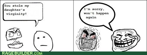 Rage Comics,theft,troll,virginity