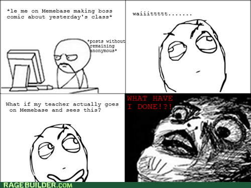 Rage Comics: Oh Hey There Miss Brown