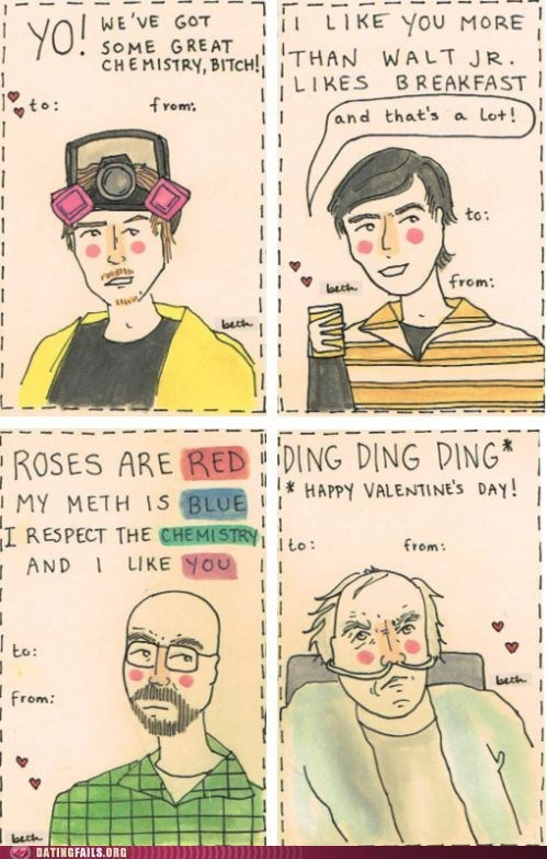 Breaking Bad Valentines!