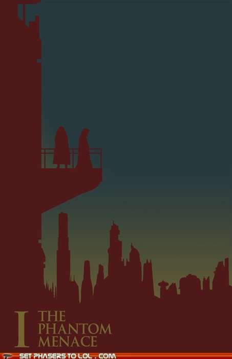 Star Wars in Silhouette