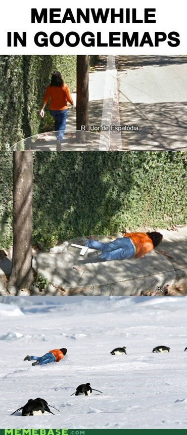 Meanwhile in Googlemaps
