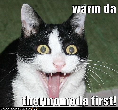 warm da  thermomeda first!