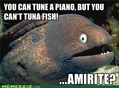You Can't Carry a Tuna Joke