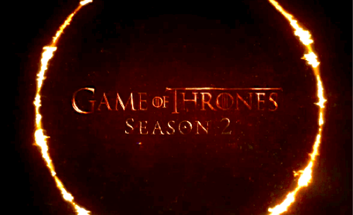 Game of Thrones Season 2 Premiere Date of the Day