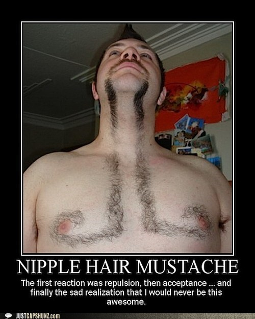 awesome,BAMF,guy,mustache,mustaches,nipple hair mustache,random guy