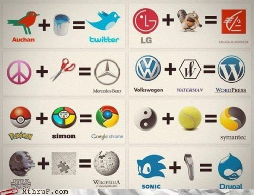 Monday Thru Friday: Corporate Logo Math